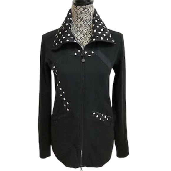 ✨RARE✨Lululemon black and white dot oragami jacket
